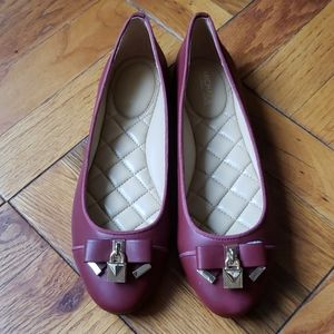 Michael Kors womens leather shoes